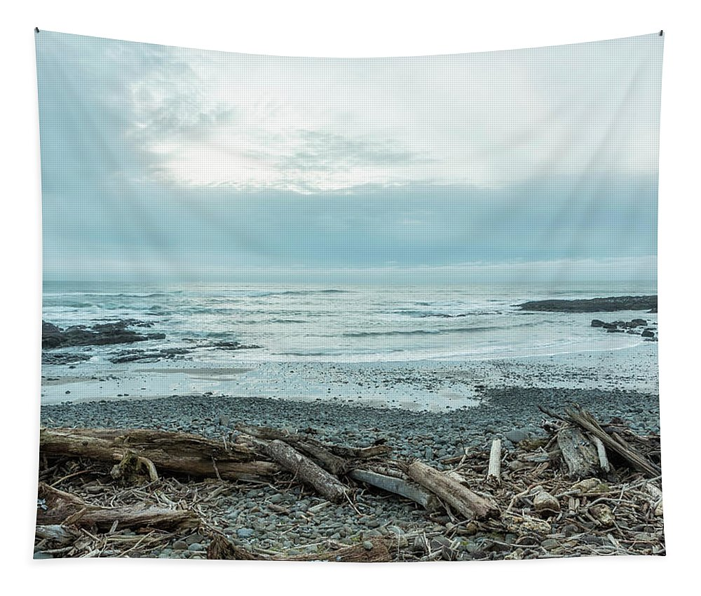 Oregon Coast Tapestry featuring the photograph Offerings by Belinda Greb