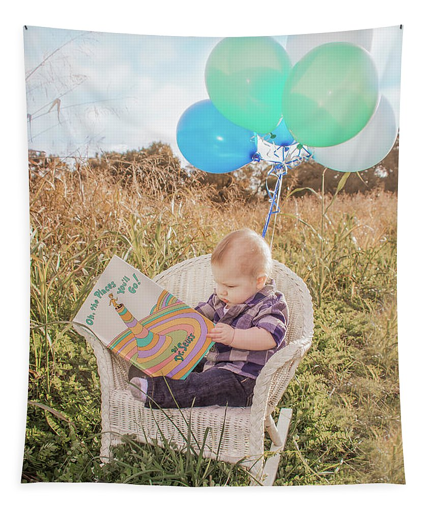 Pamela Williams Tapestry featuring the photograph Oh The Places You'll Go by Pamela Williams