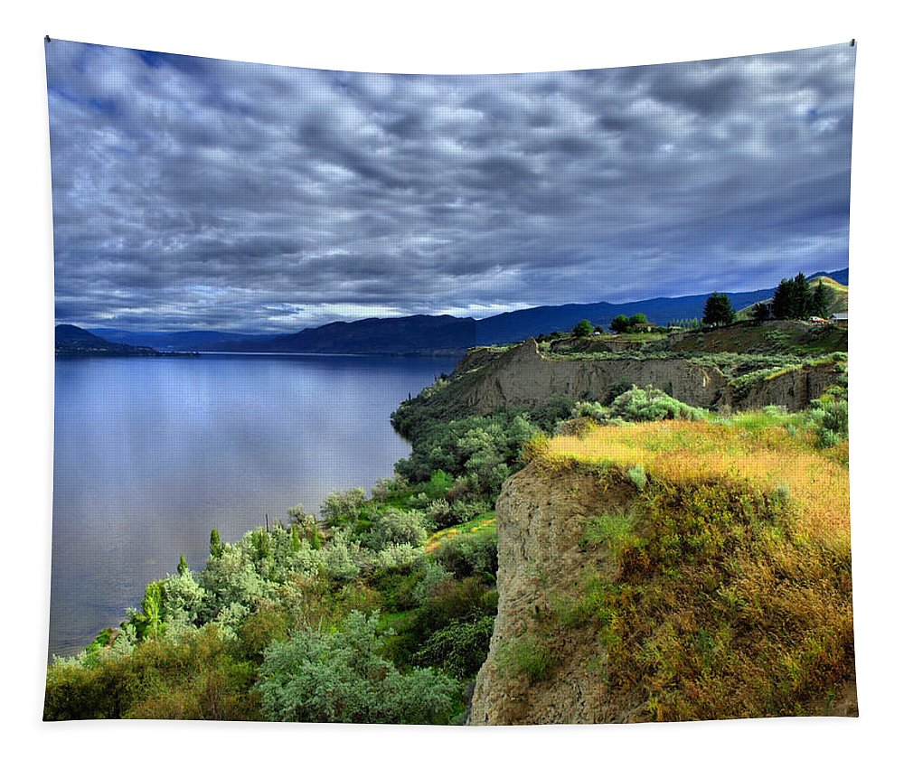 Lake Tapestry featuring the photograph Okanagan Lake On A Thursday by Tara Turner