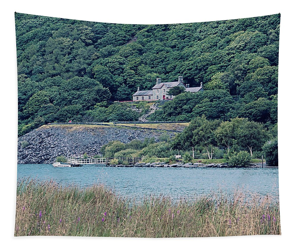 Beauty Tapestry featuring the photograph Old Quarry Hospital by Monika Tymanowska