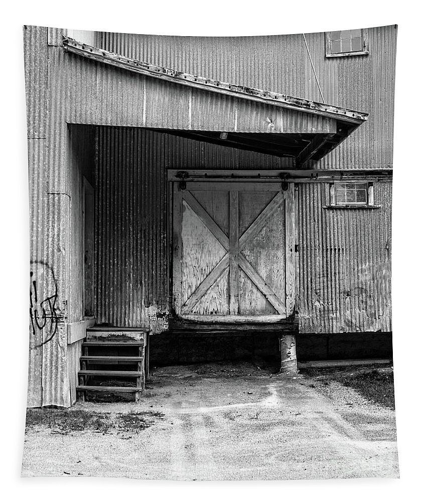 Warehouse Tapestry featuring the photograph Old Warehouse Norwich Vermont by Edward Fielding