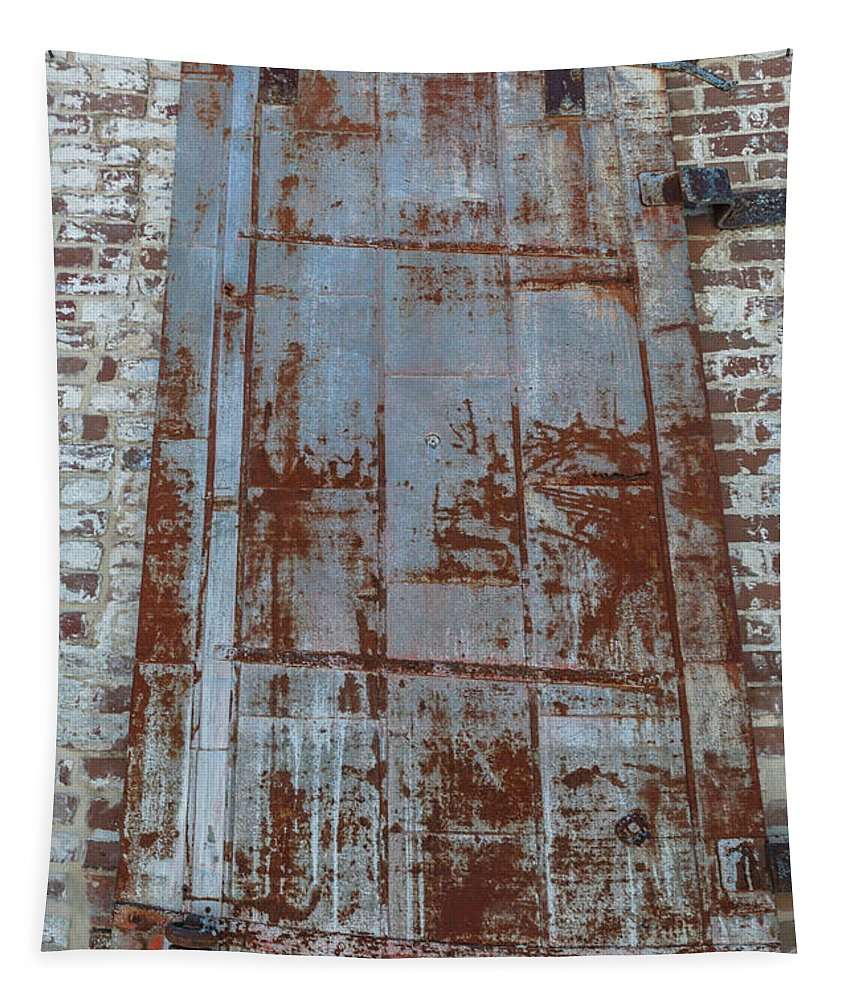 Door Tapestry featuring the photograph Old World Door by Dale Powell