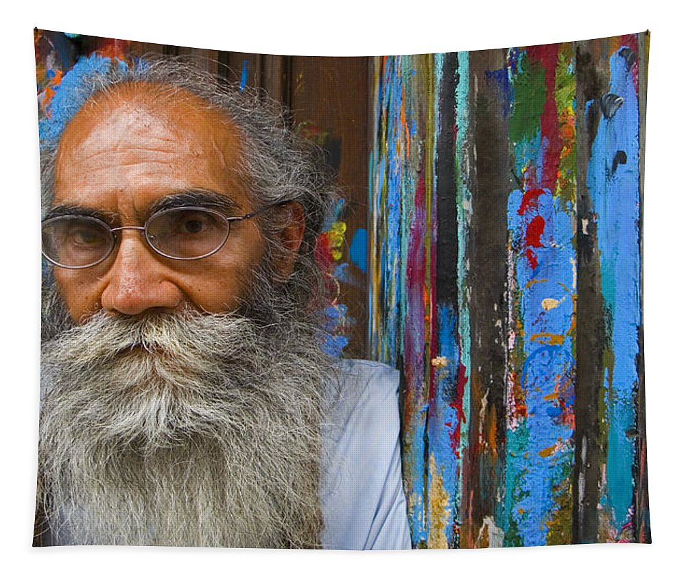 Architecture Tapestry featuring the photograph Orizaba Painter by Skip Hunt