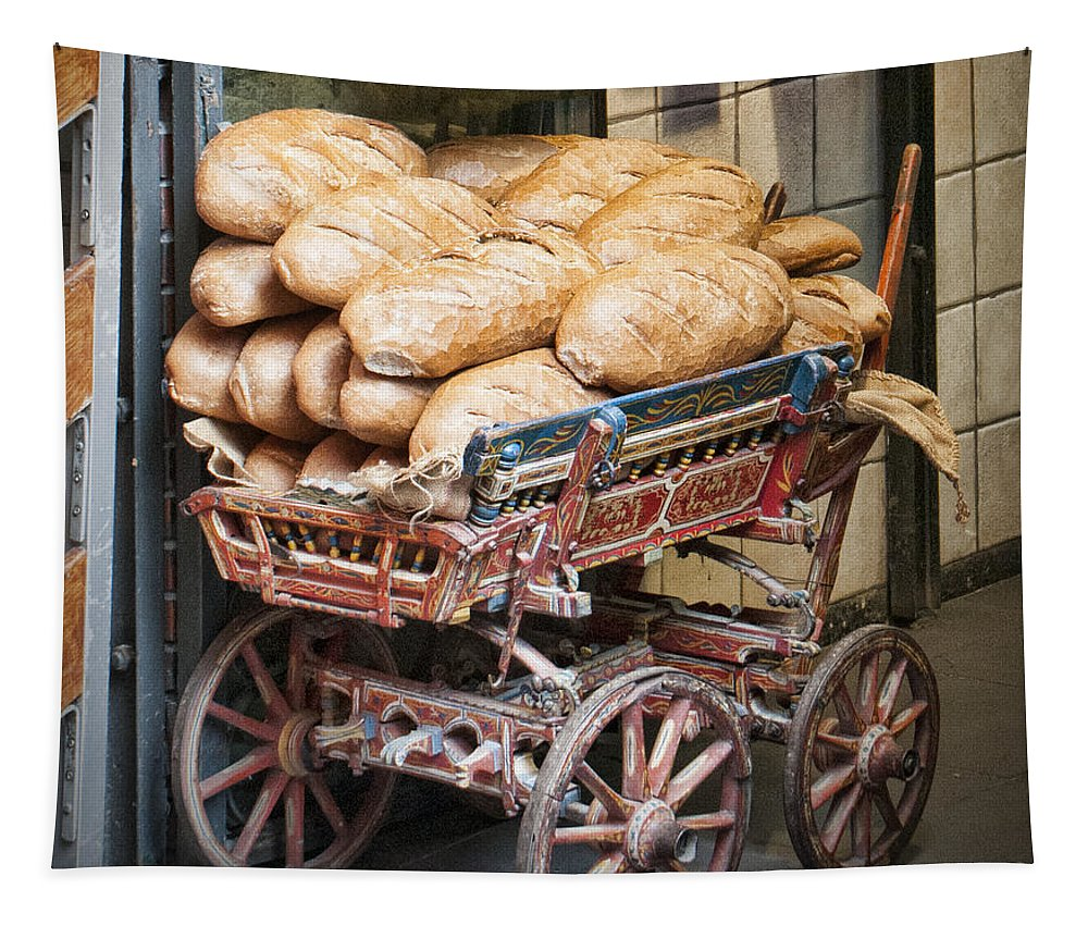 Our Daily Bread Tapestry featuring the photograph Our Daily Bread by Phyllis Taylor