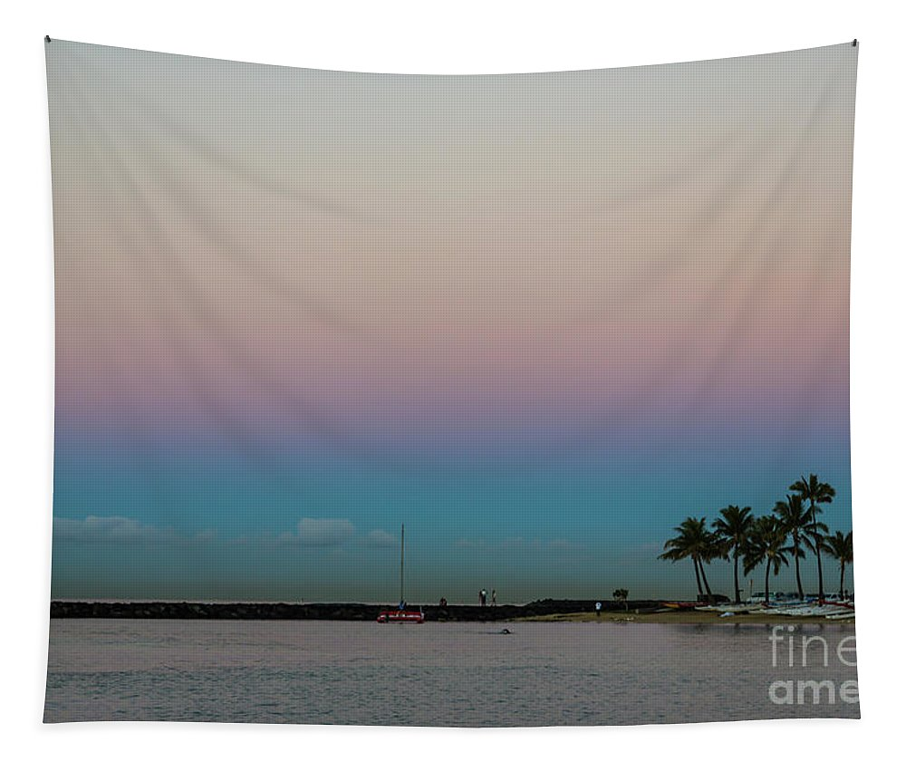 Jon Burch Tapestry featuring the photograph Pacific Belt Of Venus by Jon Burch Photography