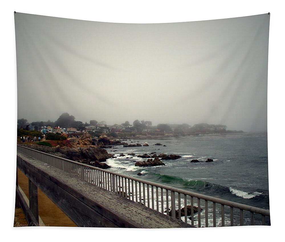 Pacific Grove Tapestry featuring the photograph Pacific Grove California Usa by Joyce Dickens