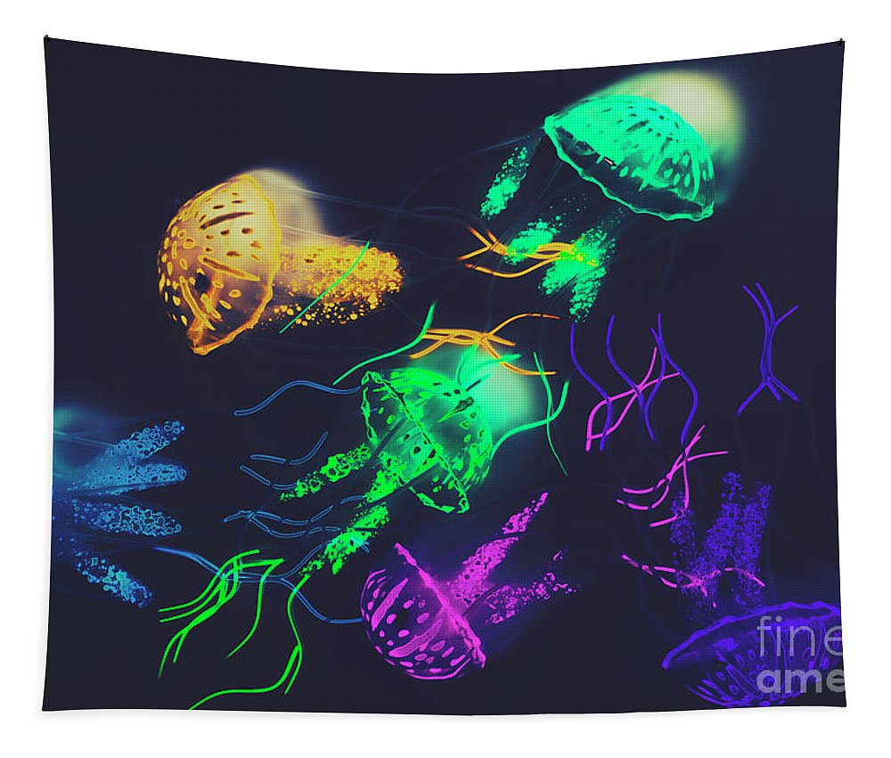 Retro Tapestry featuring the photograph Pacific Pop-art by Jorgo Photography - Wall Art Gallery