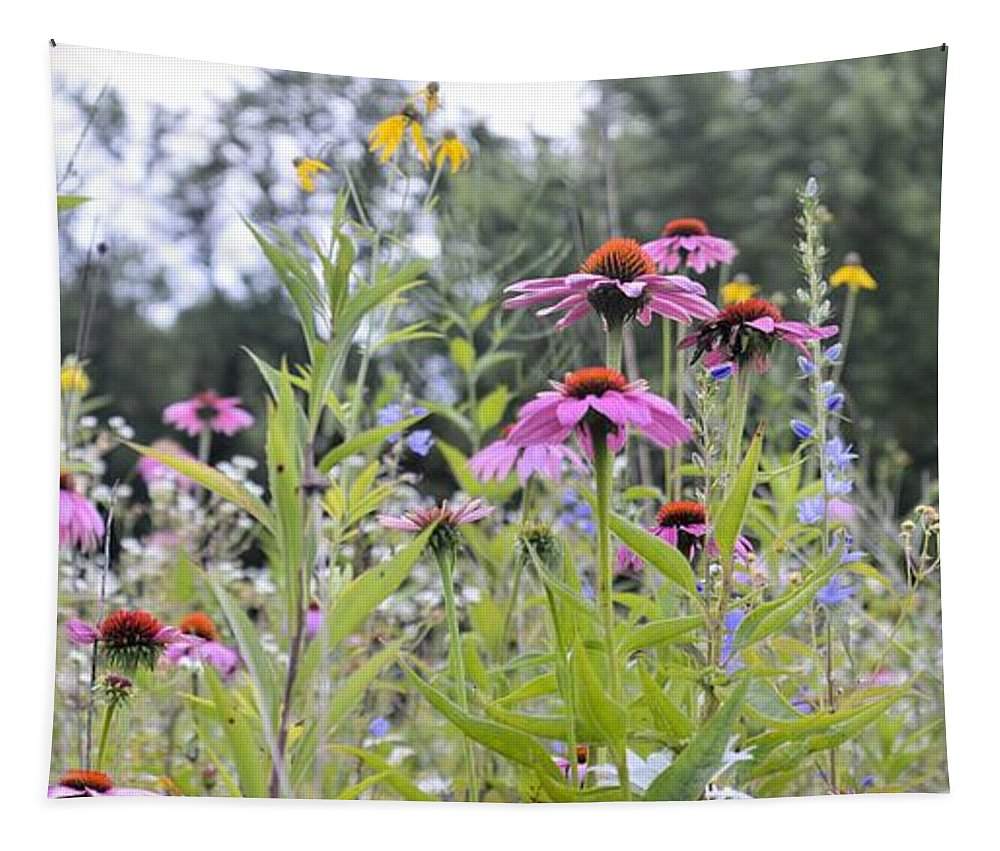 Bouquet Tapestry featuring the photograph Panoramic Bouquet by Bonfire Photography