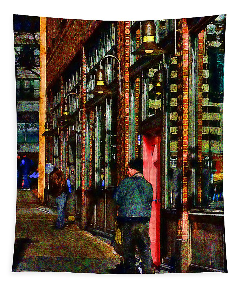 Digital Art Tapestry featuring the photograph Passing Time by David Patterson
