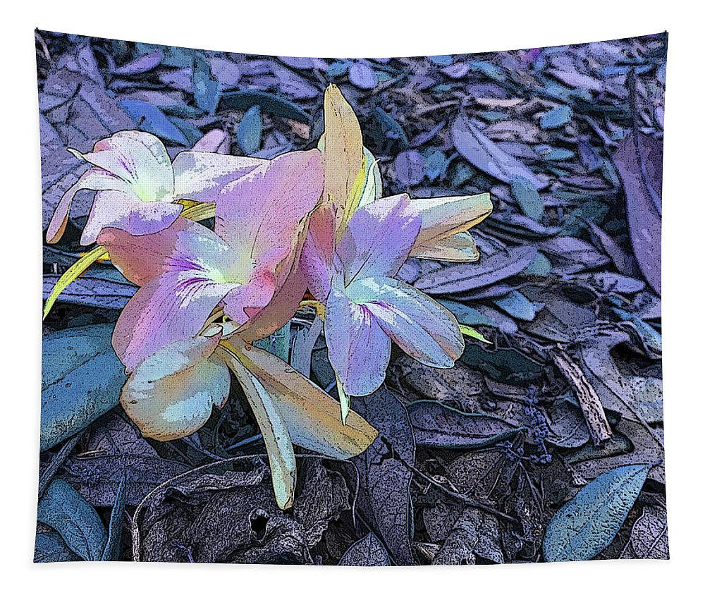 Flower Tapestry featuring the photograph Pastel Petals by Aimee L Maher ALM GALLERY