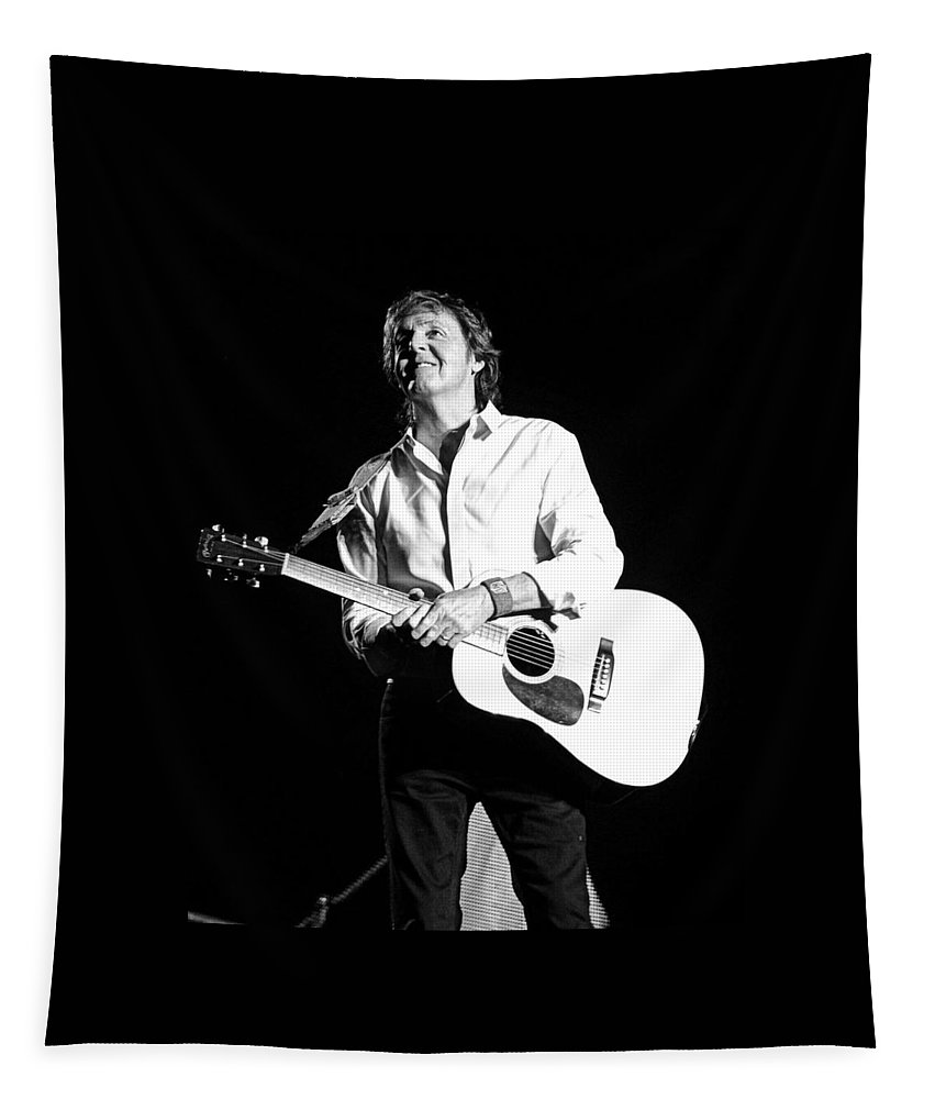 Paul Mccartney Tapestry featuring the photograph Paulanta by Keri Butcher