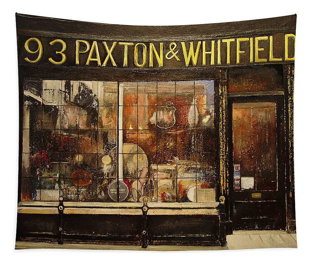 Paxton Tapestry featuring the painting Paxton Whitfield .London by Tomas Castano