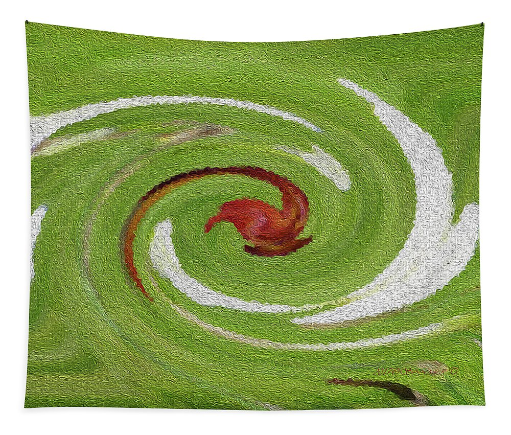 Bird Tapestry featuring the digital art Peace And Love by Sonali Gangane