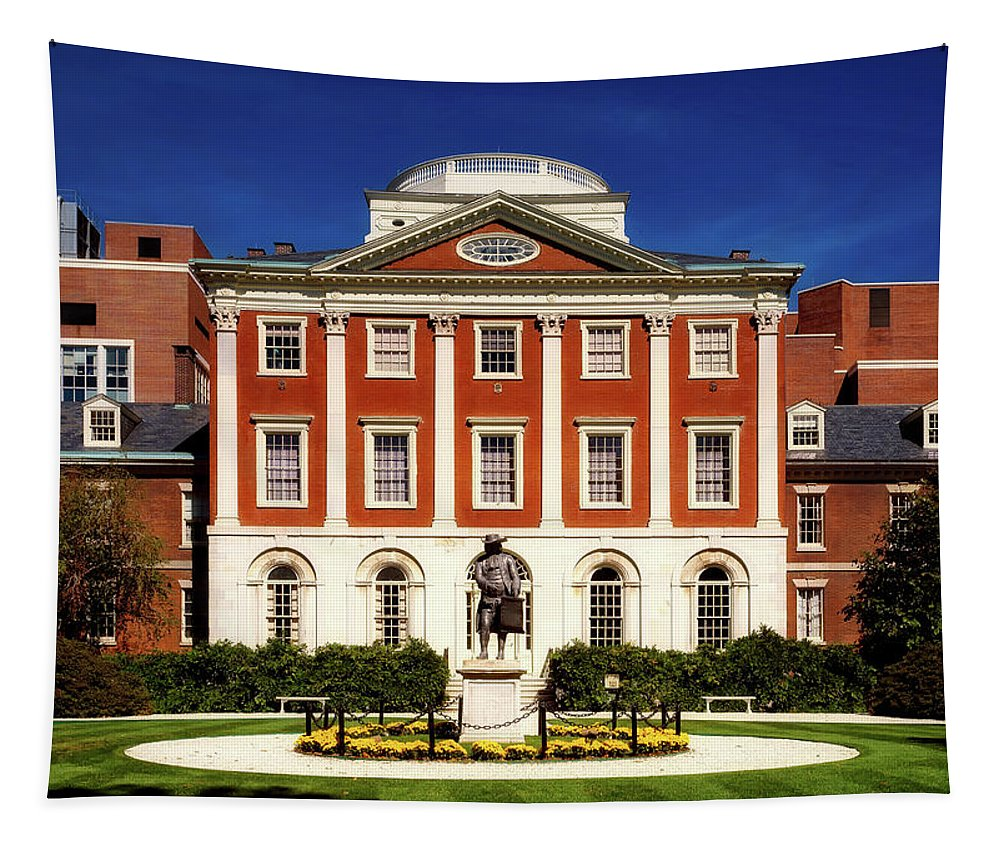 Pennsylvania Hospital Tapestry featuring the photograph Pennsylvania Hospital by Mountain Dreams