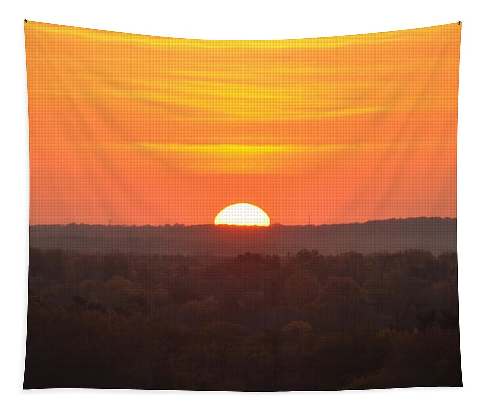 Pennsylvania Tapestry featuring the photograph Pennsylvania Sunrise by Bill Cannon