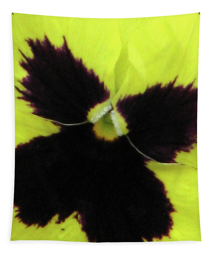 Pansy Tapestry featuring the photograph Perfectly Pansy 06 by Pamela Critchlow