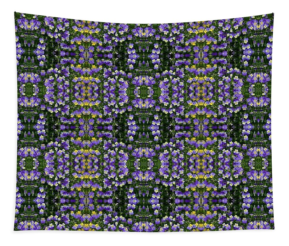 Floral Tapestry featuring the photograph Picture Putty Puzzle 06 by Pamela Critchlow