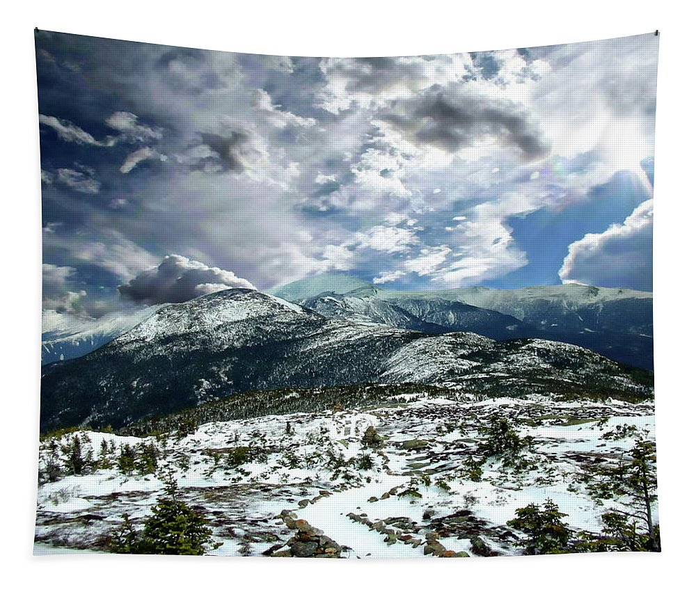 Mount Tapestry featuring the photograph Picturesque Mountain Landscape by Anthony Dezenzio