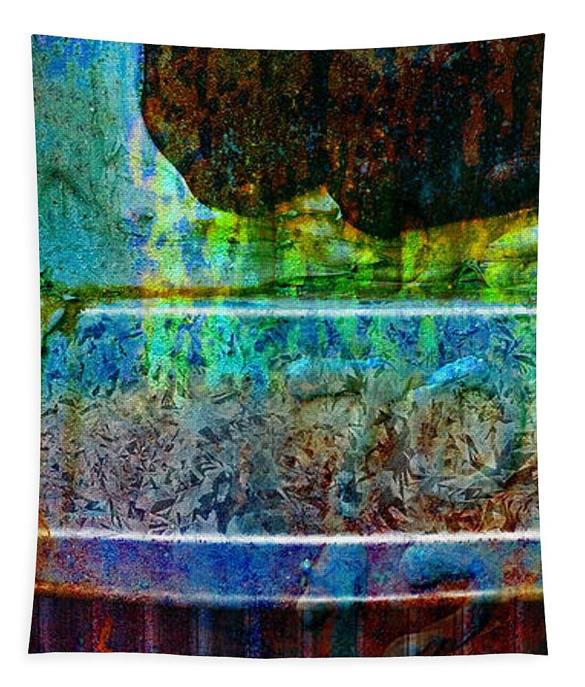 Pi Tapestry featuring the photograph piNsky by Skip Hunt