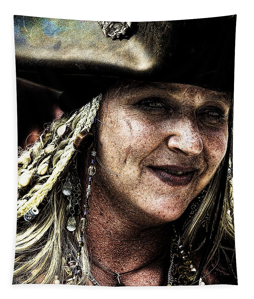 Pirates Tapestry featuring the photograph Pirate Queen by David Patterson