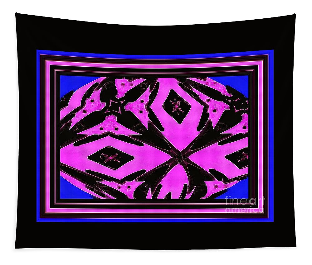 Photography Tapestry featuring the photograph Planet Of The Aliens Abstract by Debra Lynch