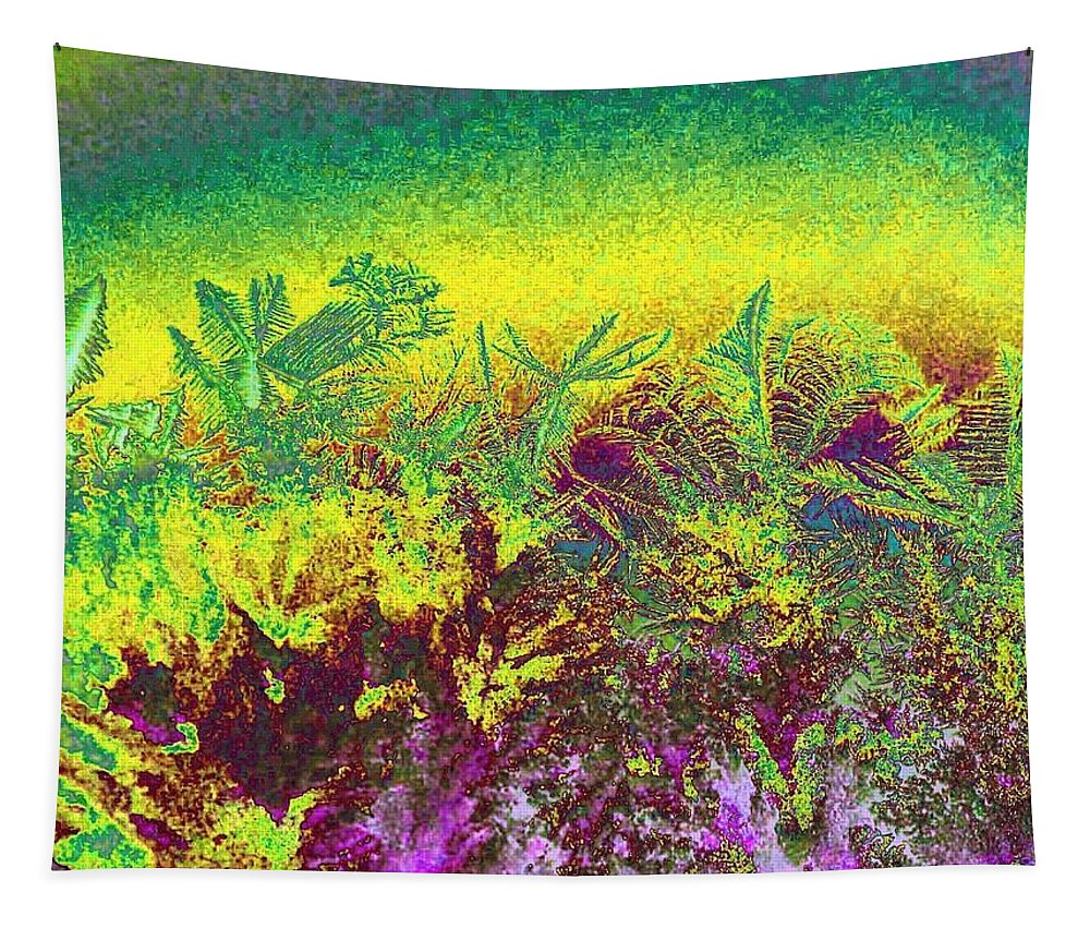 Frost Tapestry featuring the digital art Plantation by Will Borden