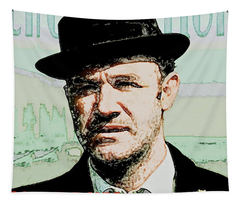 630a79ef Popeye Doyle Tapestry featuring the mixed media Popeye Doyle, The French  Connection by Thomas Pollart