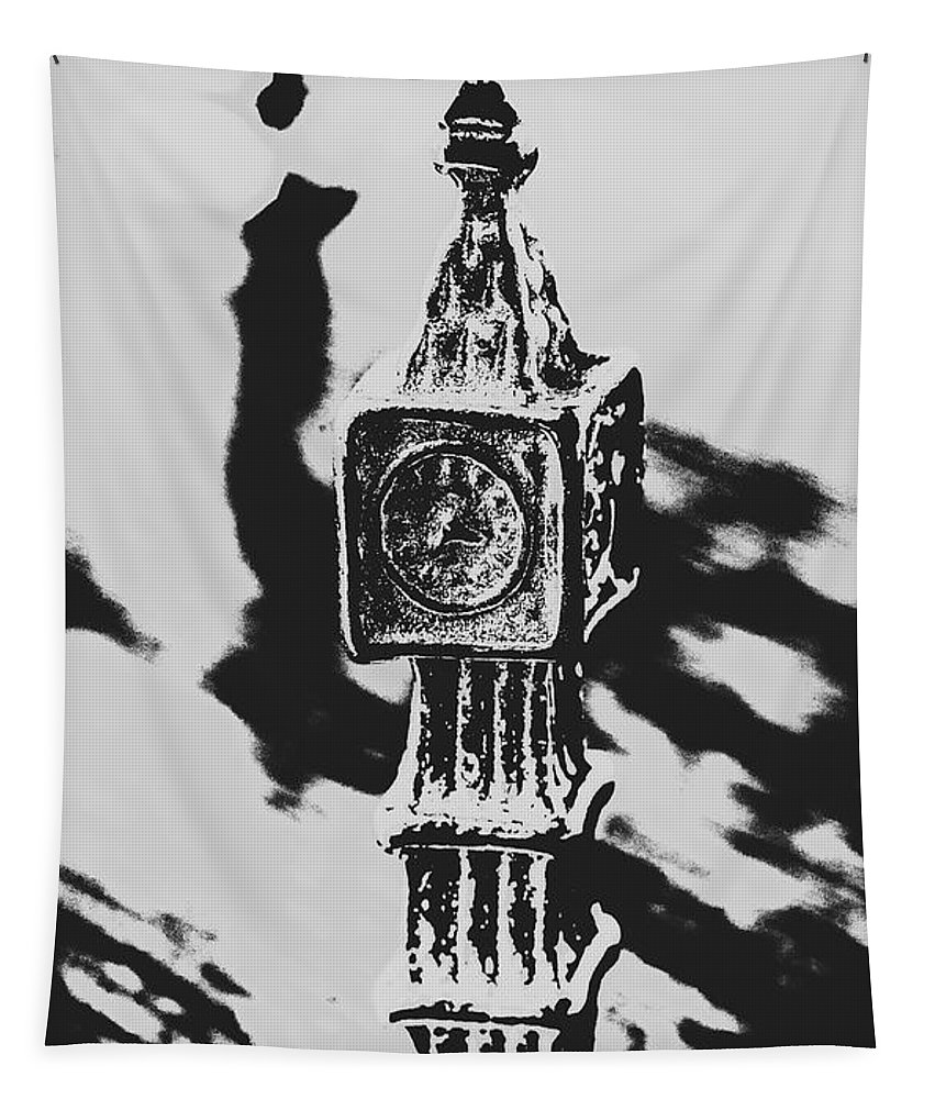 Poster Tapestry featuring the photograph Postcards From Big Ben by Jorgo Photography - Wall Art Gallery
