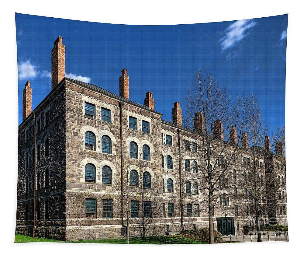 Princeton Tapestry featuring the photograph Princeton University Dod Hall by Olivier Le Queinec