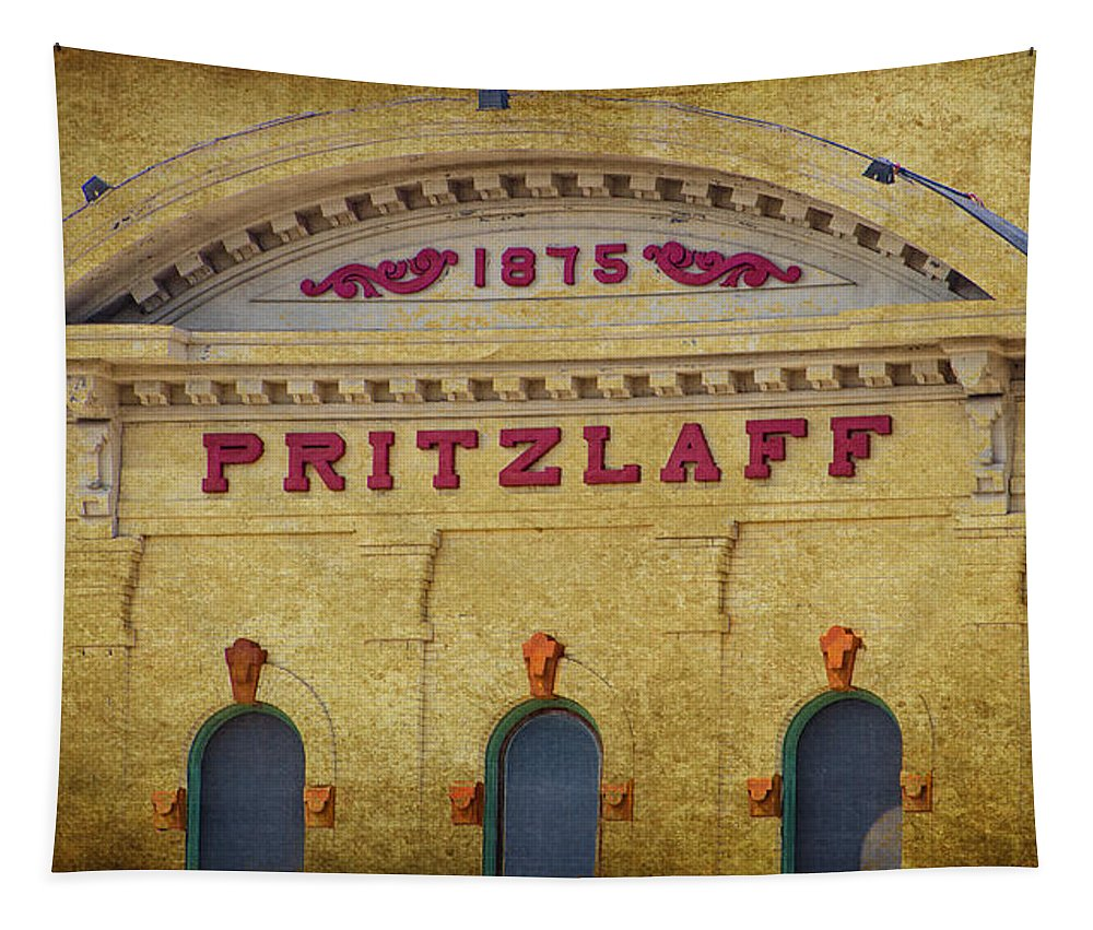 Pritzlaff Tapestry featuring the photograph Pritzlaff by Susan McMenamin