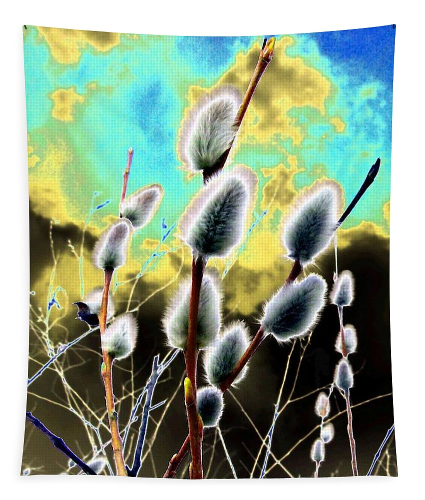 Proclamation Of Spring Tapestry featuring the digital art Proclamation Of Spring by Will Borden