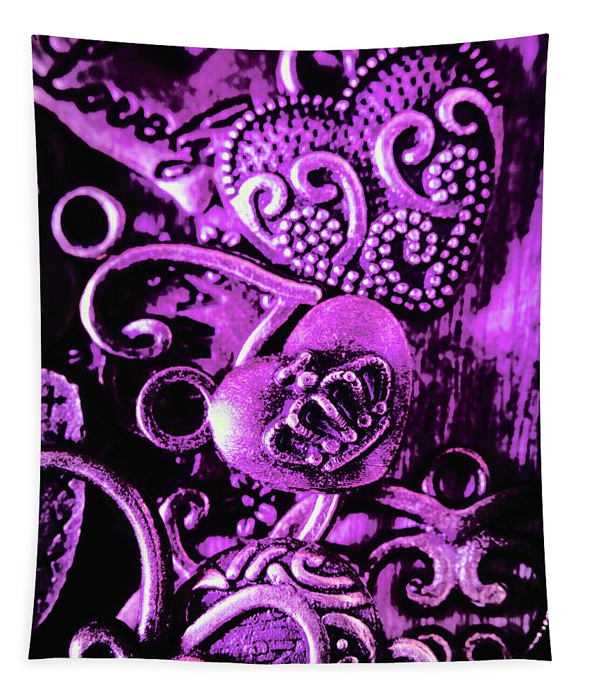 Purple Tapestry featuring the photograph Purple Heart Collection by Jorgo Photography - Wall Art Gallery