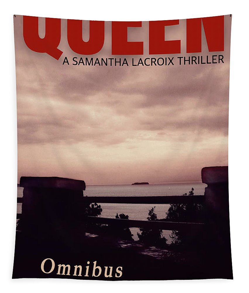 Book Cover Tapestry featuring the photograph Queen Omnibus by Felipe Adan Lerma
