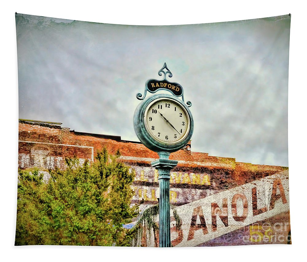 Radford Tapestry featuring the photograph Radford Virginia - Time For A Visit by Kerri Farley