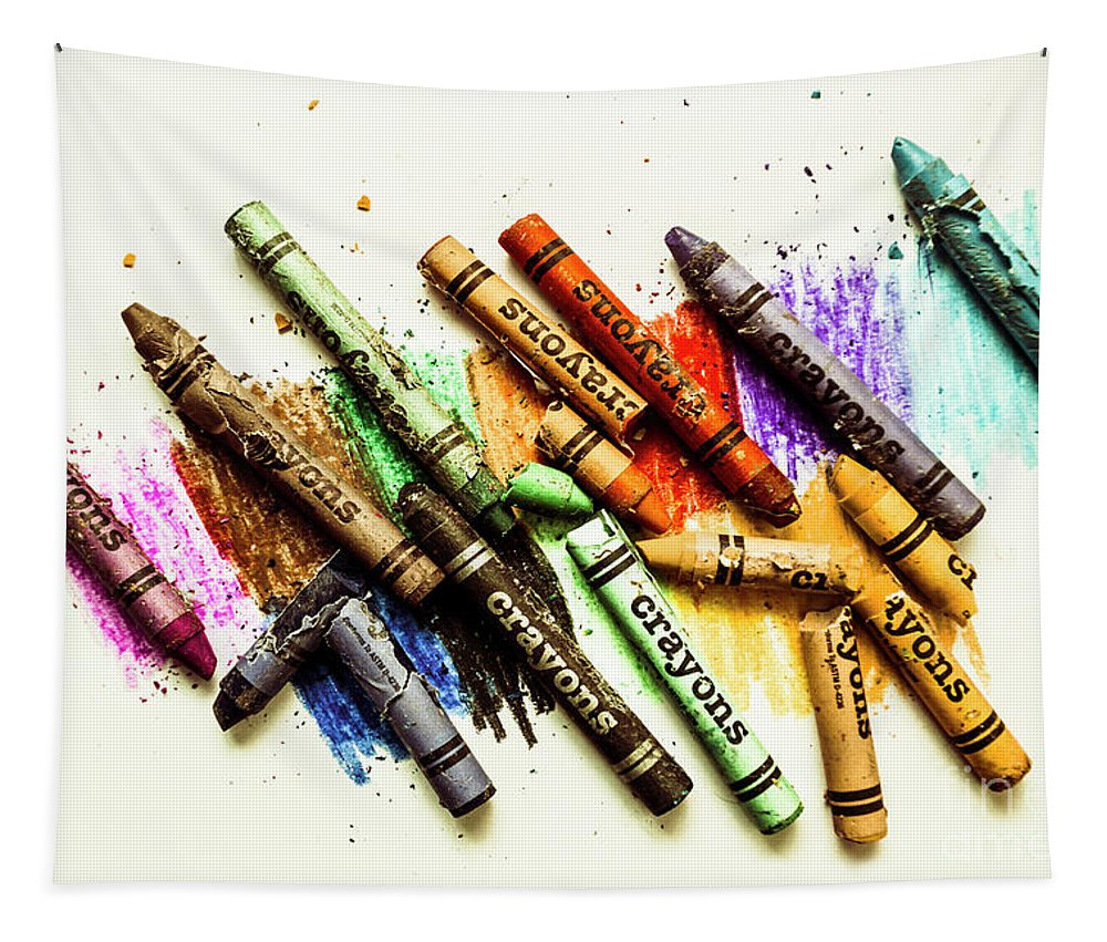 Color Tapestry featuring the photograph Rainbow Shades by Jorgo Photography - Wall Art Gallery