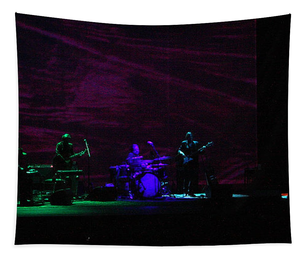 Ray Lamontagne Tapestry featuring the photograph Ray Lamontagne Band-9140 by Gary Gingrich Galleries