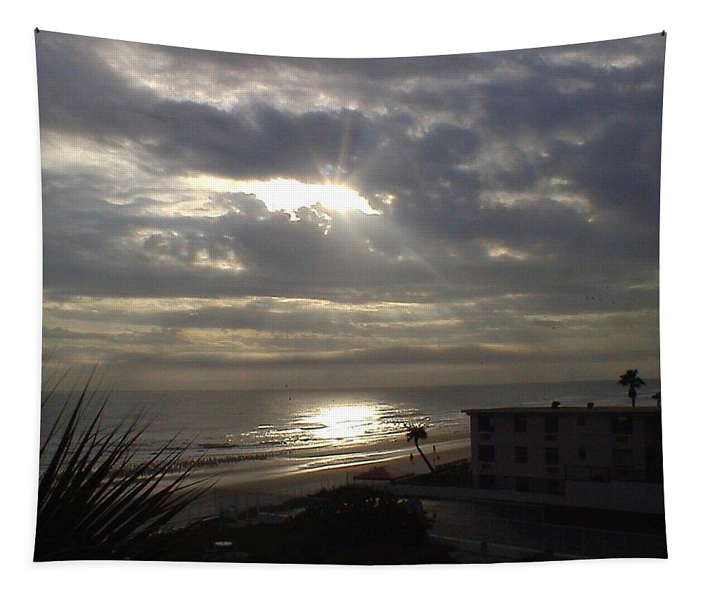 Landscape Tapestry featuring the photograph Ray Of Light by Charleen Treasures