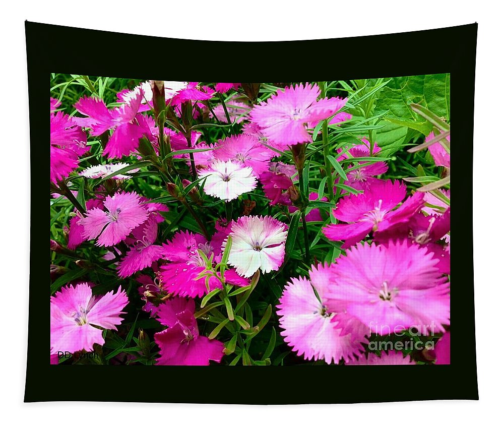 Pink Tapestry featuring the photograph Reach For The Sky by Debra Lynch