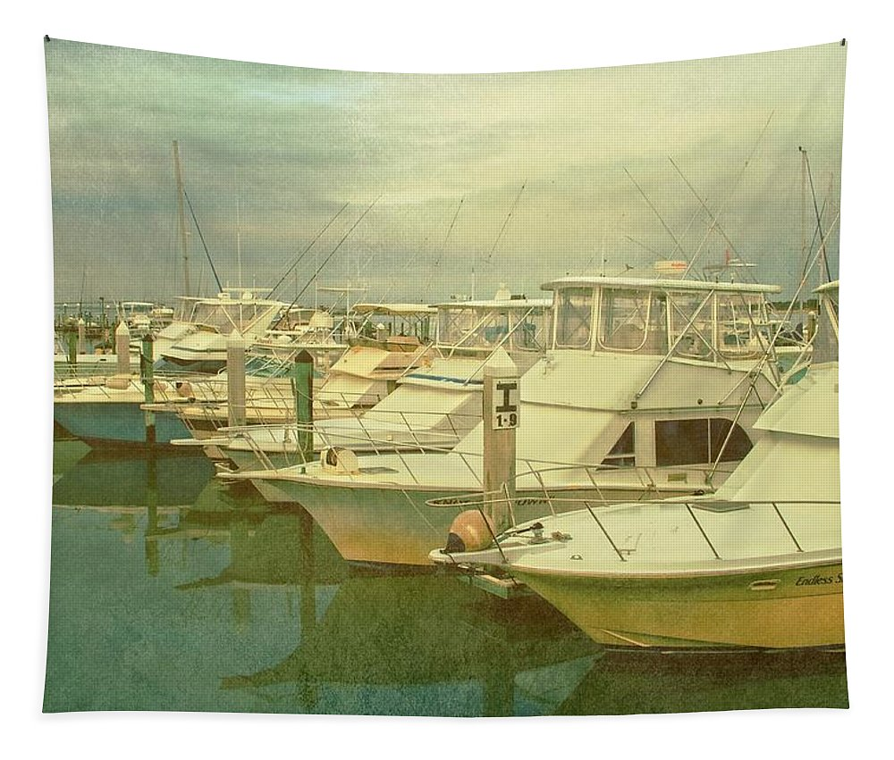 Alicegipsonphotographs Tapestry featuring the photograph Ready For Fishing by Alice Gipson