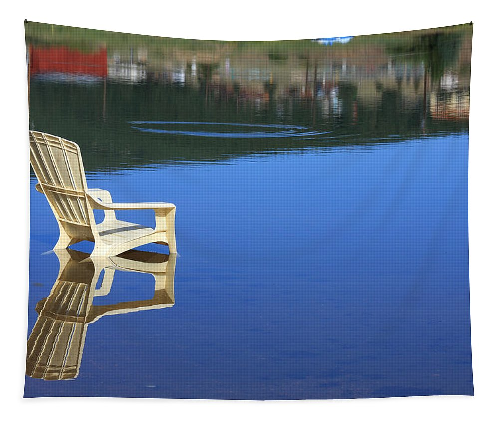 Water Tapestry featuring the photograph Reflections Fine Art Photography Print by James BO Insogna