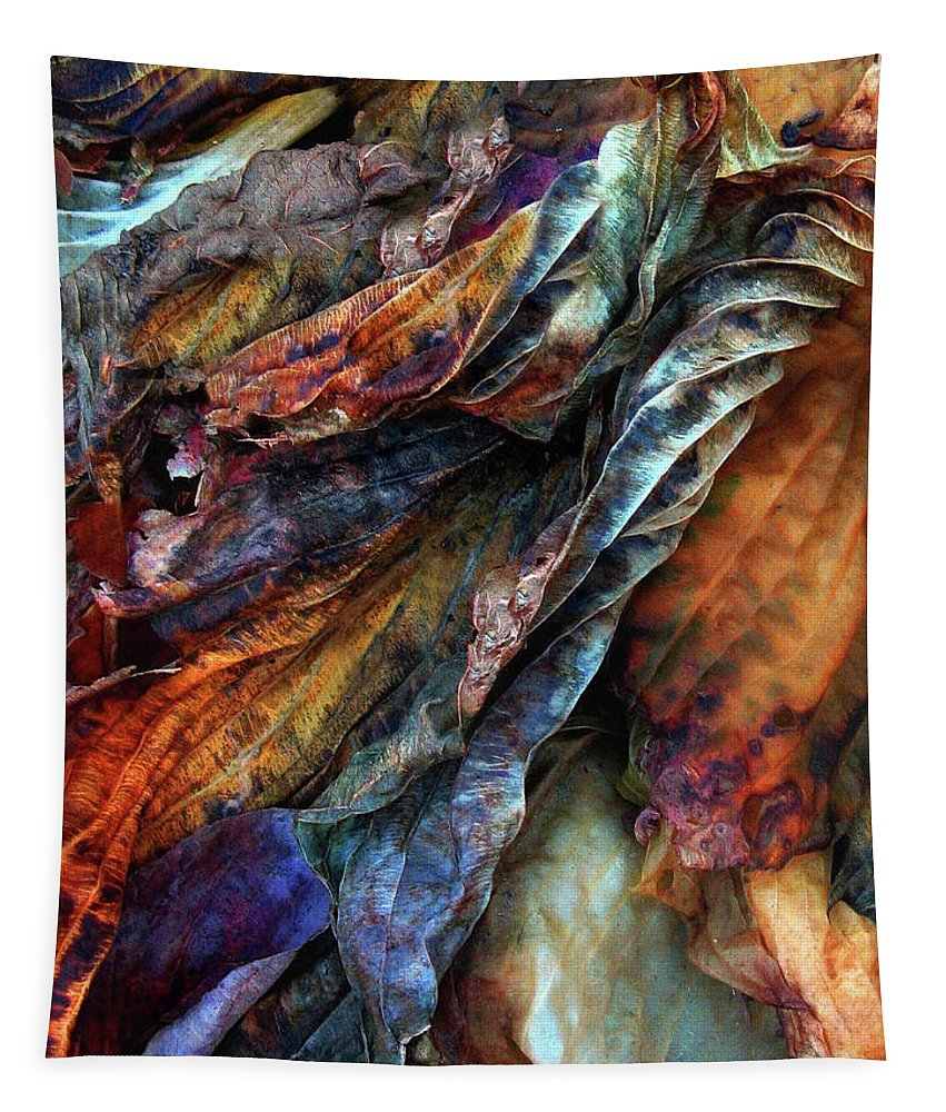 Decay Tapestry featuring the photograph Remnants by Jessica Jenney