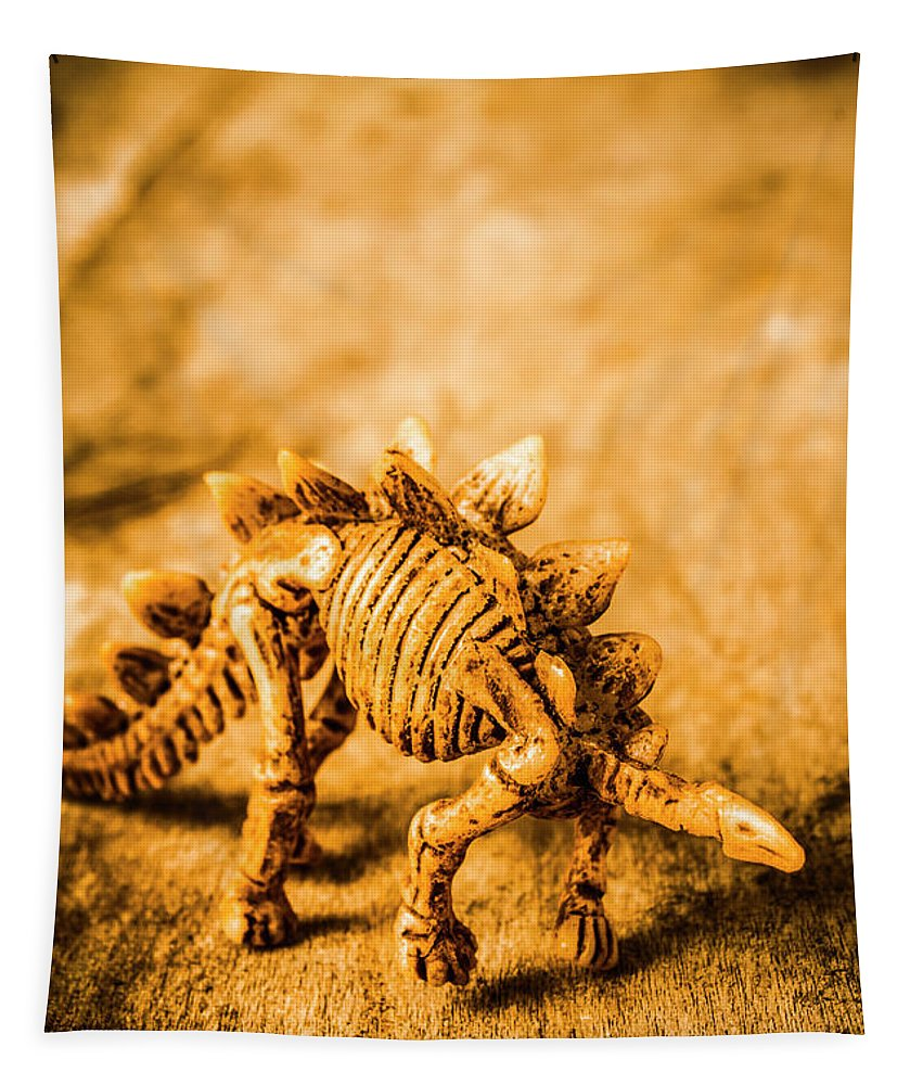 Toy Tapestry featuring the photograph Restoration In Extinction by Jorgo Photography - Wall Art Gallery