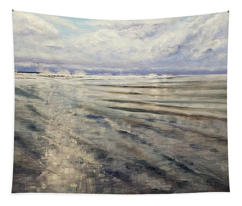 Ocean Tapestry featuring the photograph Returning by Susan E Hanna