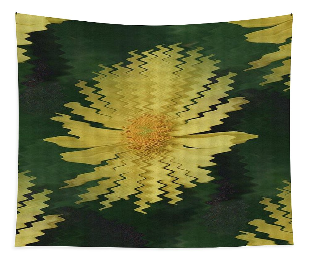 Daisies Tapestry featuring the photograph Rippling Daisies by Jeff Swan