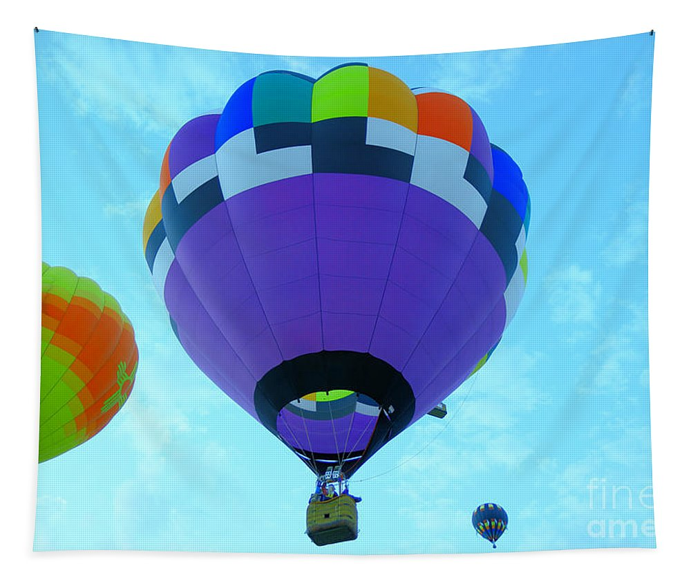 Aviation Tapestry featuring the photograph Rising Upward by Jeff Swan