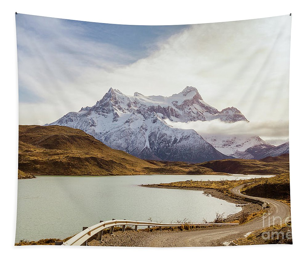 Nature Tapestry featuring the photograph Road To Adventure by Mirko Chianucci