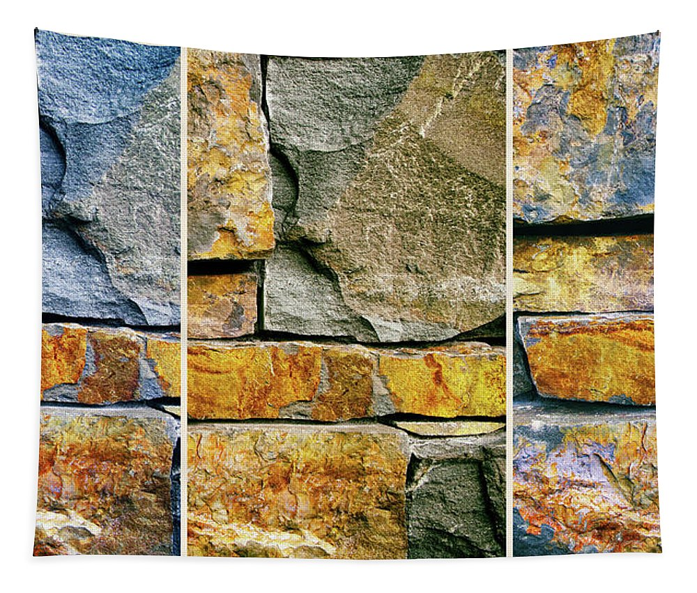 Stone Tapestry featuring the photograph Rock Steady by Jessica Jenney