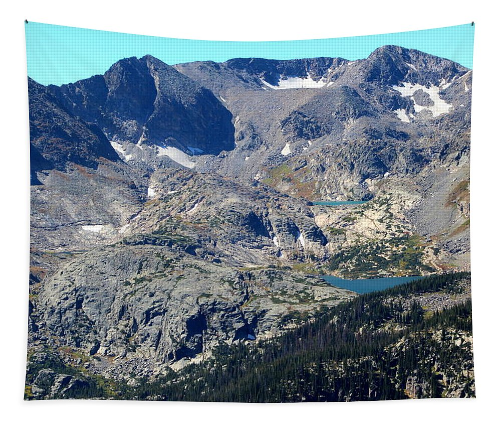 Rocky Mountain National Park Tapestry featuring the photograph Rocky Mountain National Park by Fiona Kennard