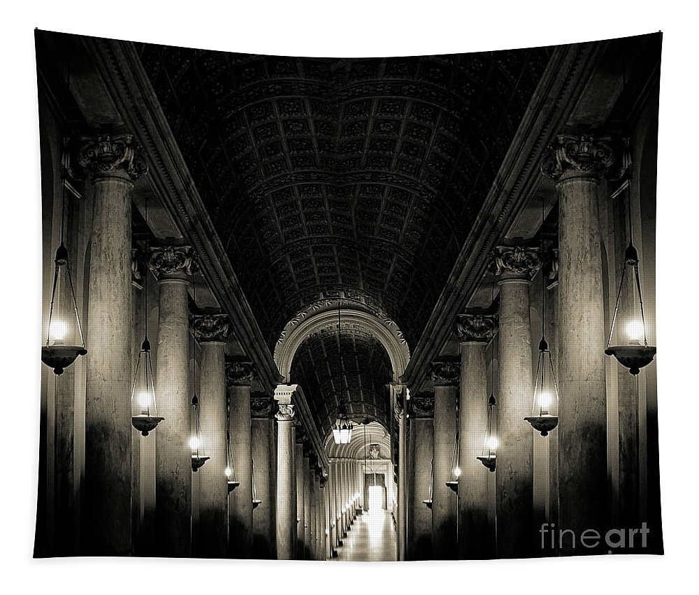Rome Tapestry featuring the photograph Rome 29 by Ben Yassa