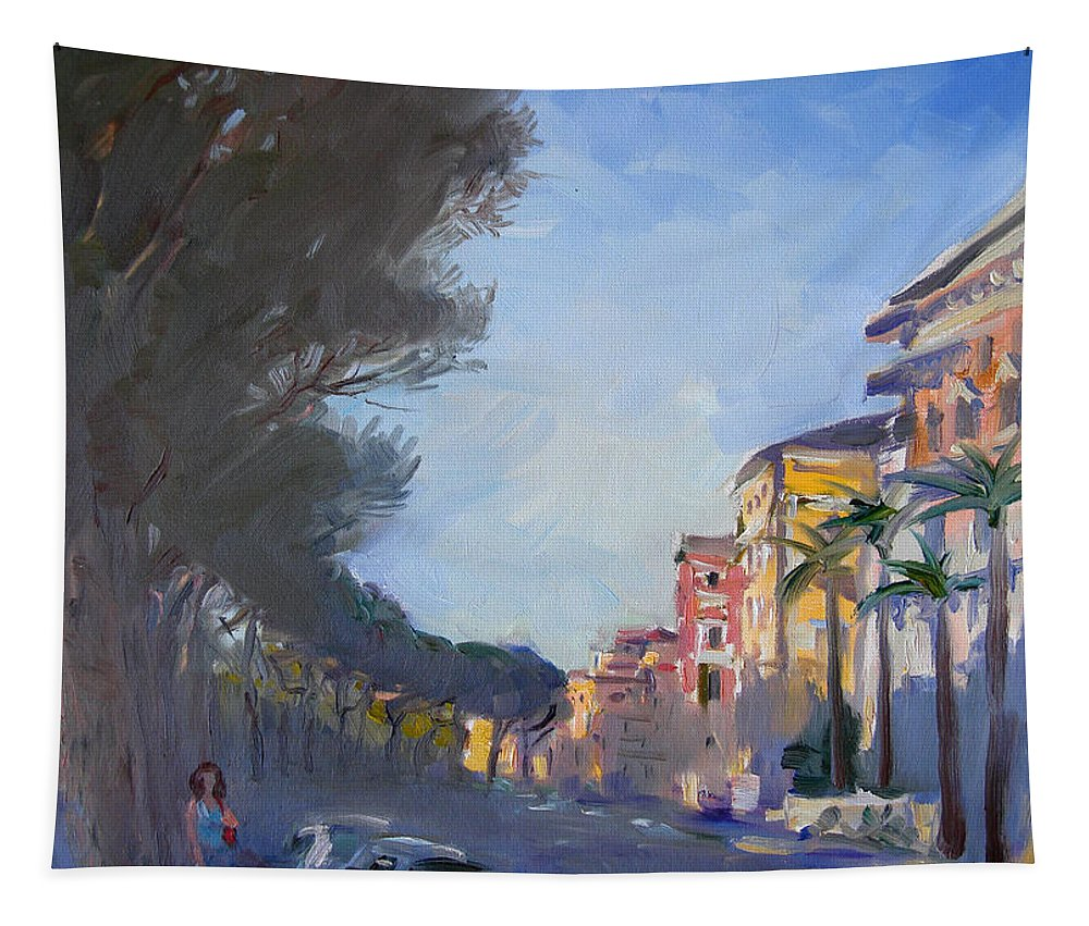 Rome Tapestry featuring the painting Rome by Ylli Haruni